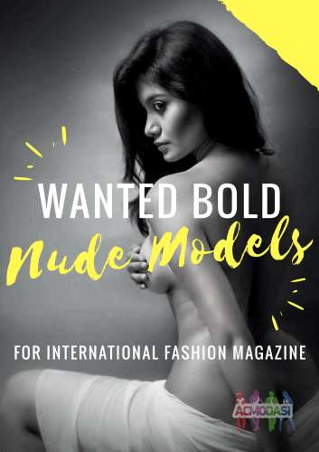 Nude models wanted