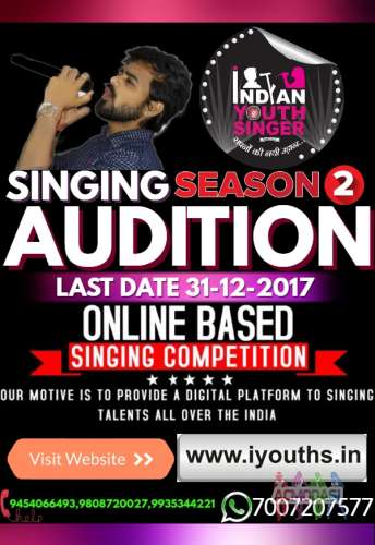ACMODASI: Casting Calls for singing competitions 2019