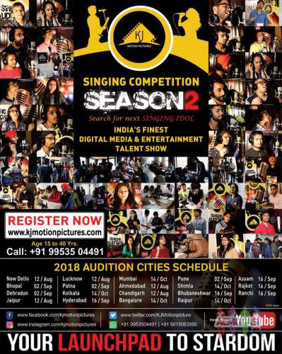 KJ Motion Pictures (Season 2) | Singing Auditions | Singing Competition | 2018